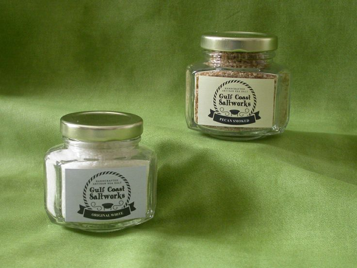 Gulf Coast Saltworks - We just got our new labels and they look fantastic!