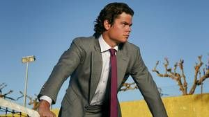 Milos Raonic's style, on and off the court