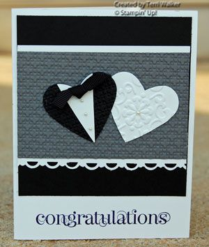 great weding card..Love this. I am so making this for my sister-in -law