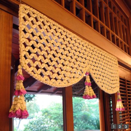 Toran for the main door Diwali decoration