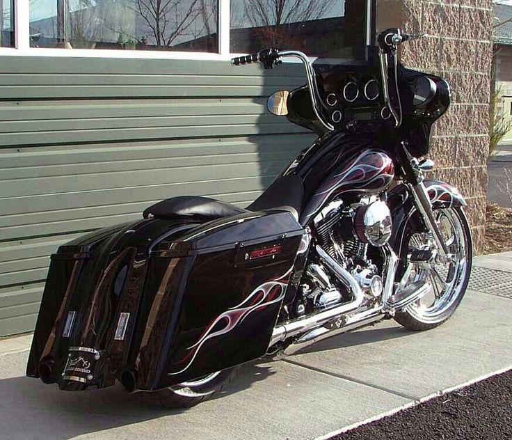 Harley Davidson. Street. Glide. Ape hanger. Custom