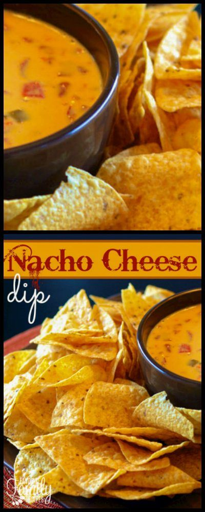 This creamy and slightly spicy Nacho Cheese Dip has only 2 ingredients! It is a very simple recipe, but that doesn't make it any less delicious. via @favfamilyrecipz