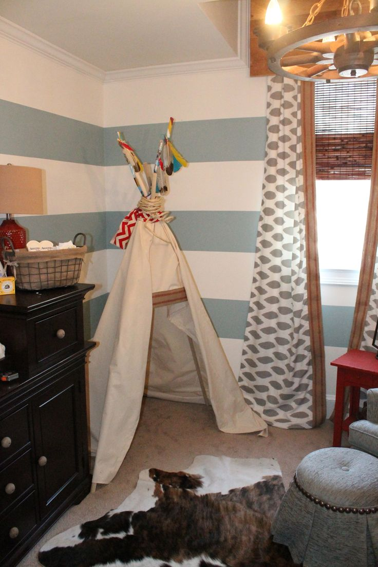 American indian themed bedroom - Cowboy And Indian Nursery Gotta Do This Theme If Its A Boy