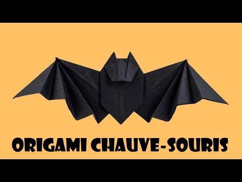 Origami chauve-souris