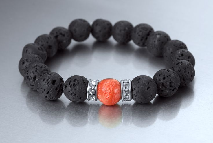 How cool is to wear some lava on the wrist! #bracelets #lava #fashion