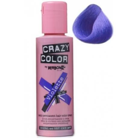 Tinte semi-permanente para uso sobre cabello decolorado. Coloración en crema. No contiene peróxido ni amoniaco. Se cae gradualmente en 6/8 lavados aprox.