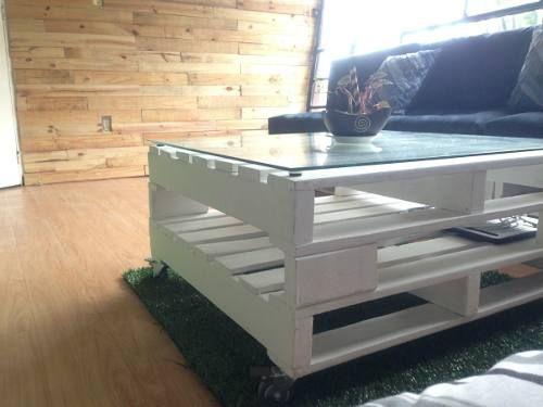 Muebles de tarima o pallets de madera suite vanilla for Tarimas de madera para muebles