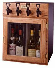 Napa 4 Bottle WineKeeper | Wine Preserver & Dispenser