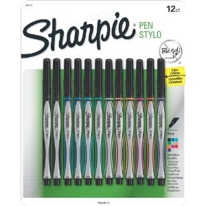 Sharpie Pen Stick Fine Point Pens, 12 Colored Ink Pens - MY FAVORITE
