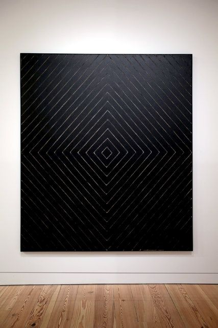 """Jill"" (1959). Credit 2015 Frank Stella/Artists Rights Society (ARS), New York; Hiroko"