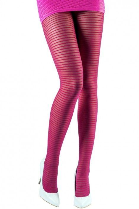 Thin-Striped Tights   Tights & Hosiery   Women   Emilio Cavallini  Mantyhose Çorap