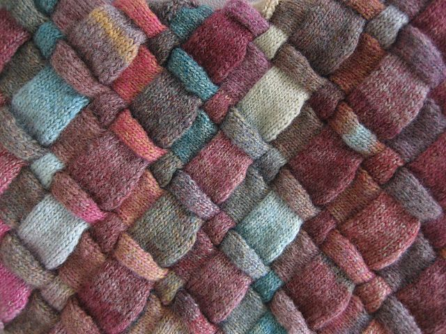Picking Up Stitches Entrelac Knitting : 230 best Knit Entrelac images on Pinterest Vests, Cable and Knitting