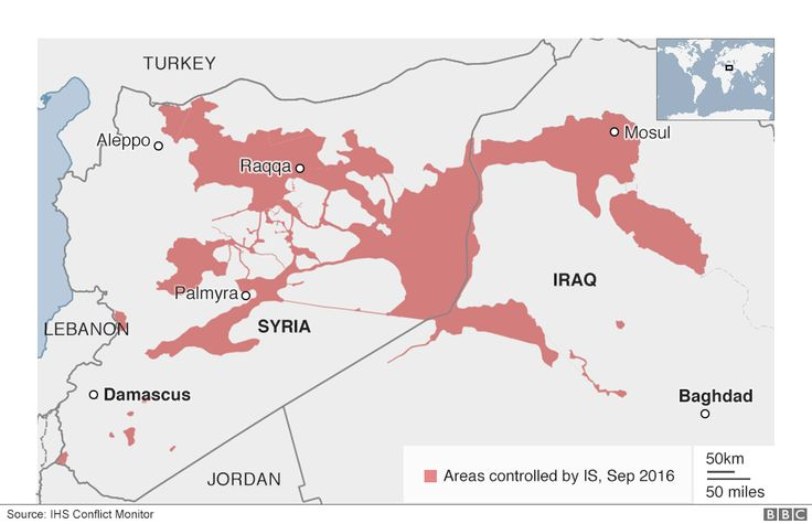 Maps and graphics telling the story of the fight against the jihadist group Islamic State (IS) in Iraq and Syria.