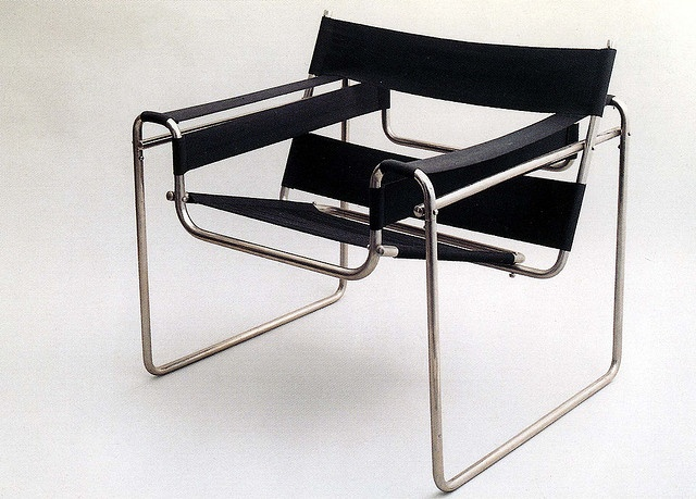 famous chair designed by marcel breuer 1925 26 bauhaus pinterest marcel wassily chair. Black Bedroom Furniture Sets. Home Design Ideas