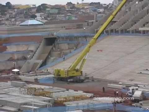 Obras no Estadio do Corinthians - Geral - Parte 02 29042012