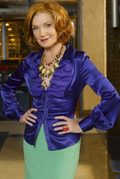 Susan Sullivan as Martha Rodgers who is time enough for everybody......