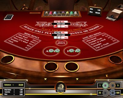 Triple Poker represents a modern casino poker variant which has gained a lot of popularity in brick & mortar casinos during the last 15 years. This game has two betting rounds and is attractive with its fast and straight forward game play. Triple Poker is based on standard Poker hands. Register here http://casino-goldenglory.com/