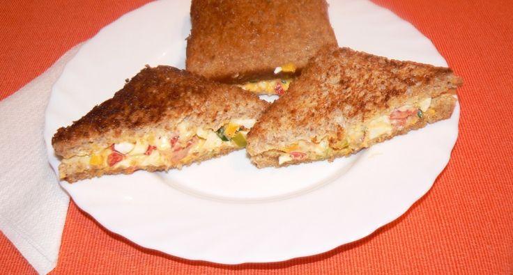Mexikói vegetáriánus szendvics | APRÓSÉF.HU - receptek képekkel