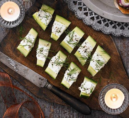 Feta & cucumber bites recipe - Recipes - BBC Good Food