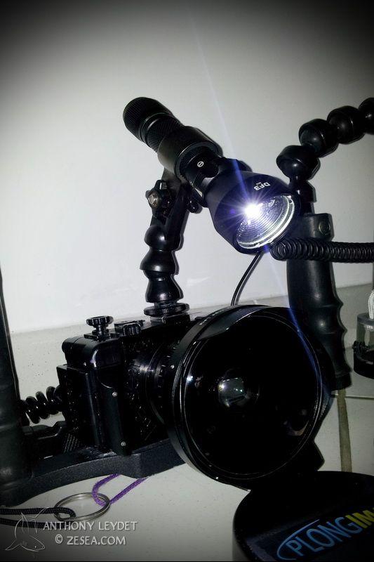 Lampe pilote DF3 de BasiXtrem : pour la photo sous-marine et plus !
