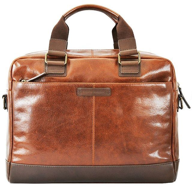 CAMBRIDGE work bag in rich tan is now back in stock online. Also available from