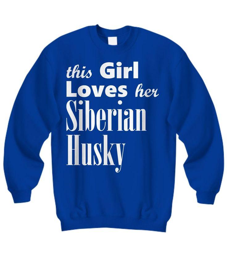 Siberian Husky - Sweatshirt