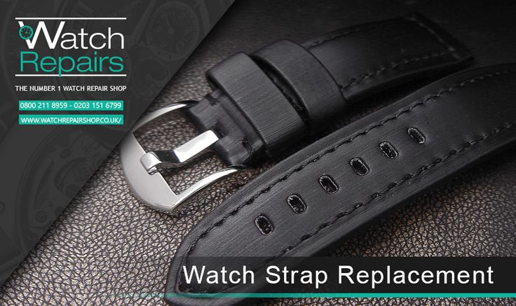 Watch Repair Shop offers watch strap replacement. A watch will only look as good as the strap holding it to your wrist. Designer and prestig...