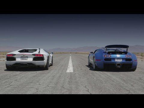 Bugatti Veyron vs Lamborghini Aventador vs Lexus LFA vs McLaren MP4-12C [Head 2 Head Episode 8]