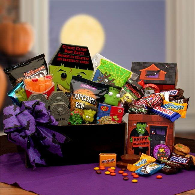 spooky fun franktastic halloween gift box we dont know why frankensteins so happy here hes so fun to eat theyll be nothing left soon - Halloween Gifts Kids