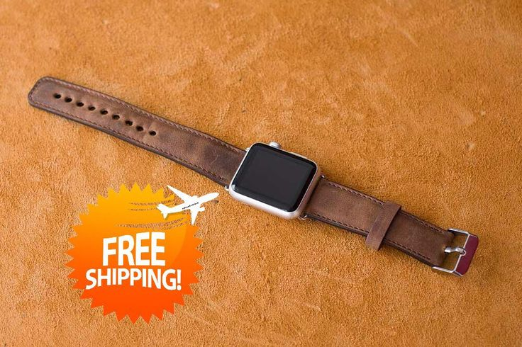Apple Watch Leather Band,  iWatch Band,Apple Watch 2 Band, Apple Leather Watch Band, Gift Leather Apple Watch Band, iWatch Leather 2 - BROWN by saracleather on Etsy https://www.etsy.com/listing/289626801/apple-watch-leather-band-iwatch