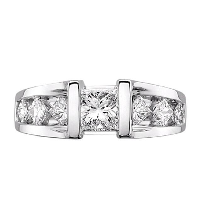 Fabulous Fred Meyer Jewelers Princess cut