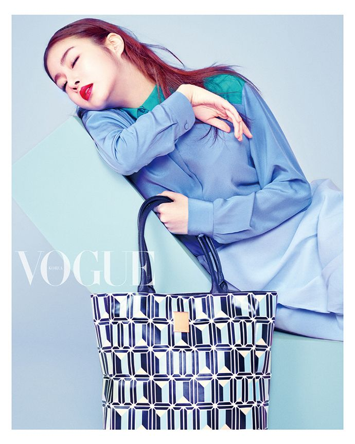 Kang So Ra Is Intensely Vibrant & Provocative For Vogue Korea's May 2015 Issue | Couch Kimchi
