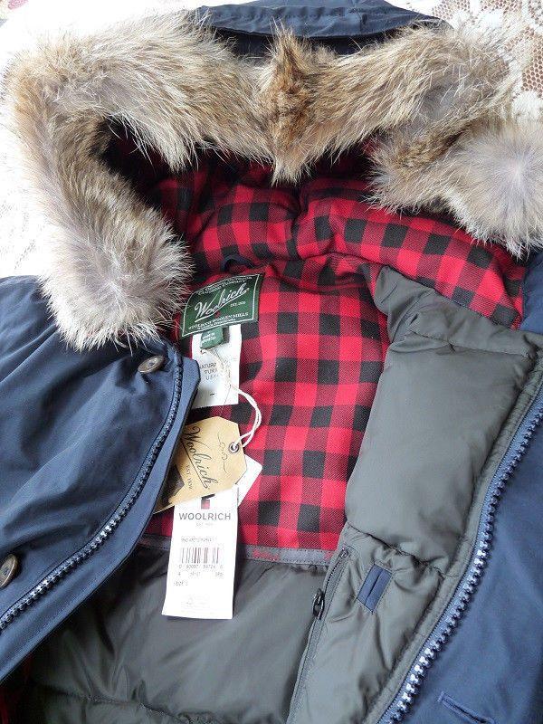 Woolrich Men's Arctic Down Parka 550 Fill Deep Navy