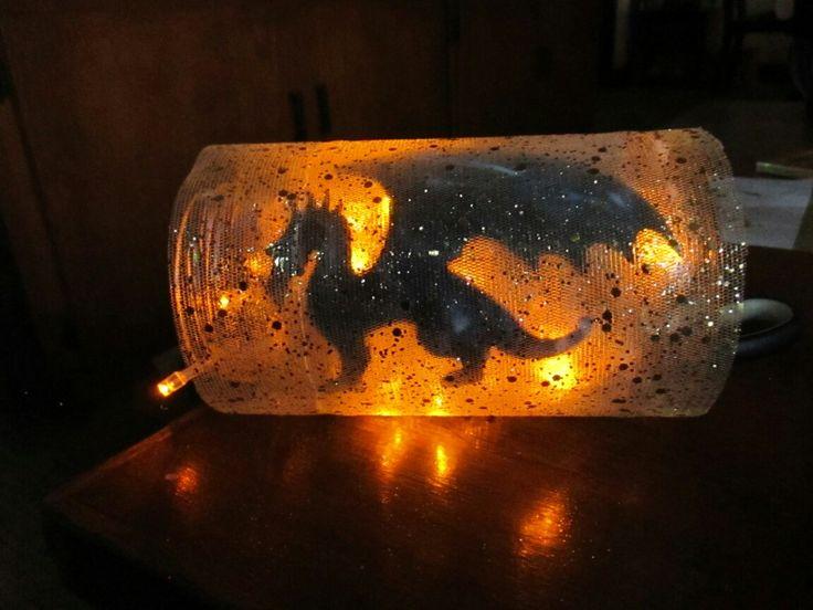 dragon light yellow