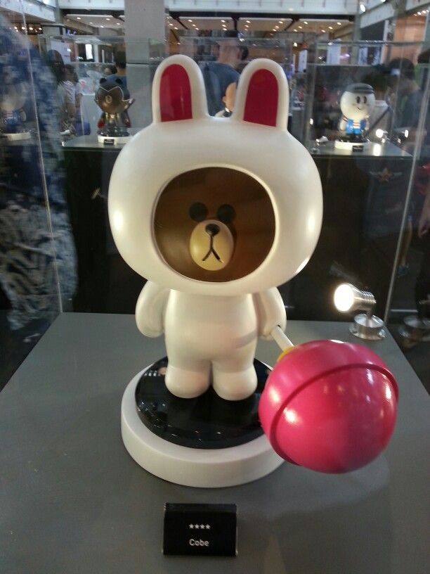 Thailand toy expo cobe Line charector from line ranger  so cute