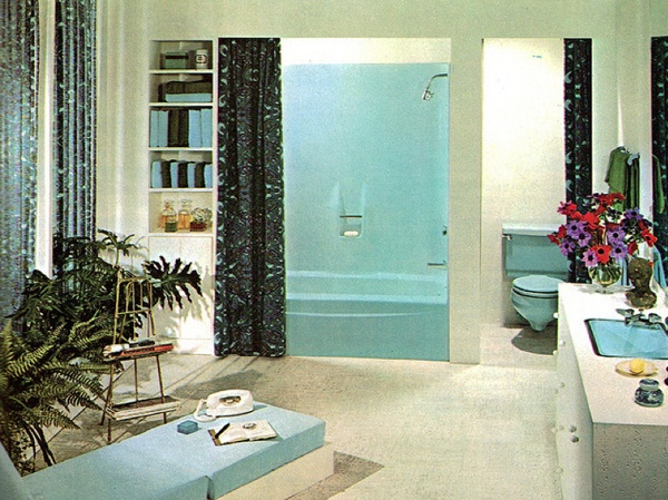Cool Retro Bathrooms 28 best 1970s bathrooms images on pinterest | vintage bathrooms