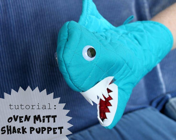 Tutorial:+Oven+Mitt+Shark+Puppet