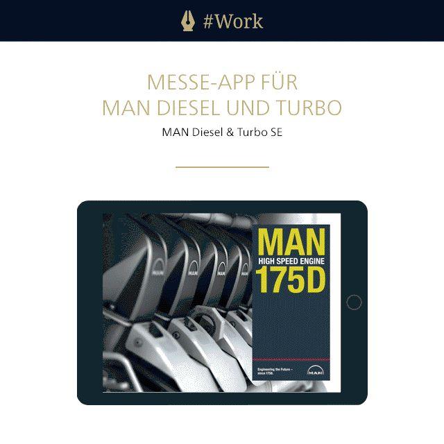 Für #MAN Diesel & Turbo haben wir Produktinformationen, unter anderem durch Videos und Animationen, in einer #App interaktiv erlebbar gemacht. Vom #Design bis zur Umsetzung mit Adobe DPS wurde alles aus einer Hand realisiert.