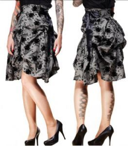"Spin Doctor ""Adonia"" Steampunk Bustle Skirt"