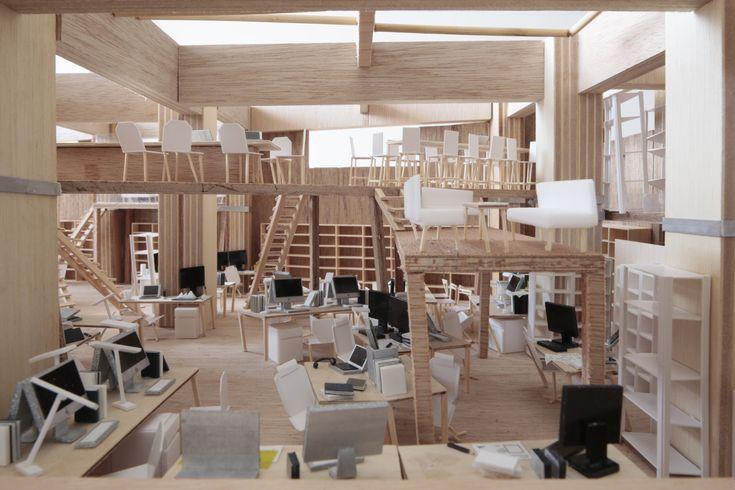 ライゾマティクス新オフィス移転計画 | Erika Nakagawa Office