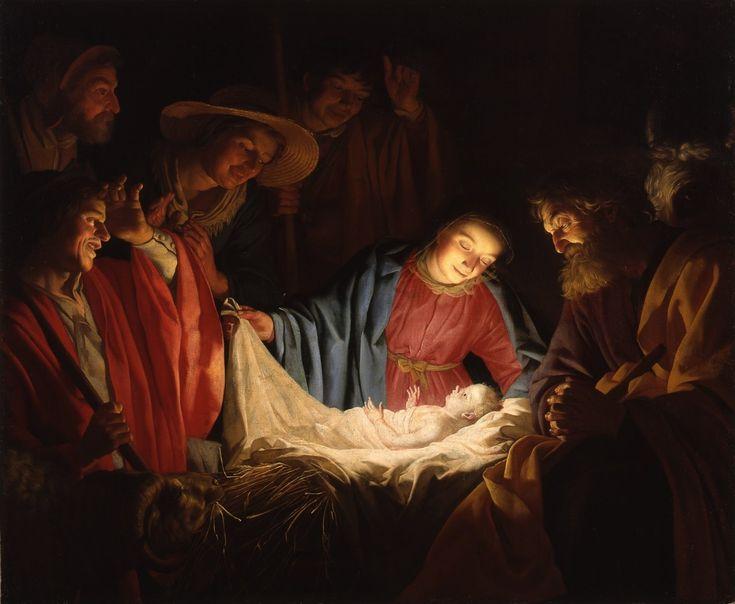Nașterea Domnului sau Nașterea lui Isus este descrisă în Evangheliile lui Luca și Matei. Cele două constatări corespund că Isus s-a născut în Betleem.