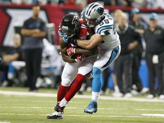 Panthers' perfect season falls apart in loss to Falcons...: Panthers' perfect season falls apart in loss to Falcons… #AtlantaFalcons