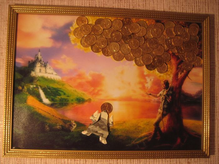 Оригинальные, эксклюзивные денежные картины авторской работы! в разделе Всё для дома в Краснодарском крае Искусство и коллекционирование Живопись, картины