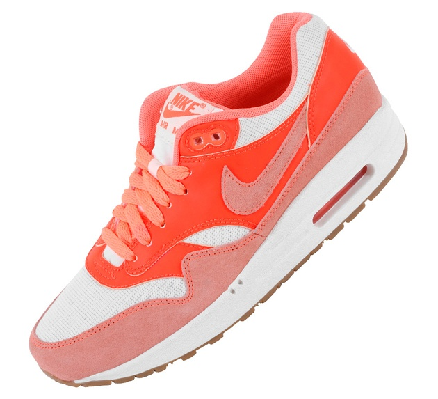 Nike Air Max 1 Vintage - Sail / Bright Mango - Total Crimson (Maj 2013)