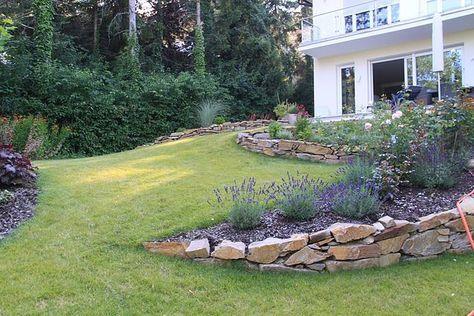 Die besten 25+ Gartengestaltung hanglage Ideen auf Pinterest - moderne gartengestaltung hanglage