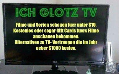 USA billig aber gut leben: Filme schauen ohne viel zu zahlen - Ich glotz TV Alternativen zu teuren Fernsehanbietern. Man kann auch Filme und Serien für unter $10 im Monat, kostenlos oder sogar fürs Filme schauen bezahlt werden. Deutsche in Amerika / Germans in America