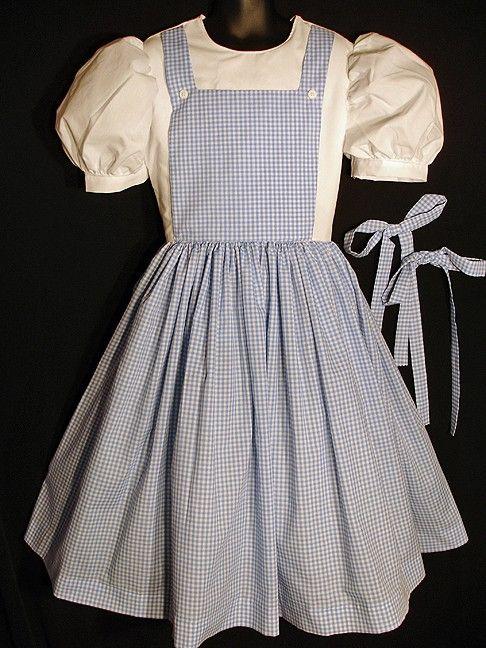 Women's Custom Dorothy Wizard of Oz Costume Dress by tickletrunk, $125.00