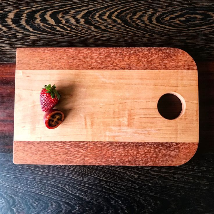 Handcrafted Wooden Chopping Board Made in New Zealand #wooden #chopping board #handmade