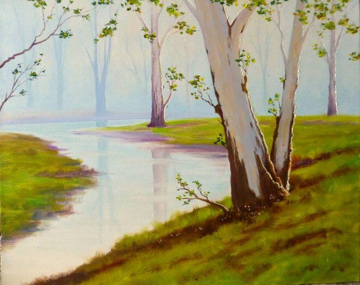 Картины (живопись) : Весенний лес.. Автор Елена  Смирнова