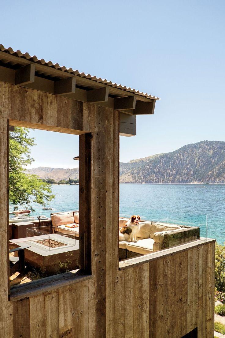 Cette maison familiale en bord de lac a été conçue pour une vie moderne et simple